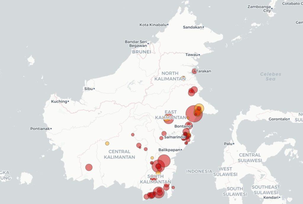 婆罗洲煤矿产能